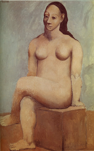 Picasso,%2BSeated%2BNude%2Bwith%2BCrossed%2BLegs%2B1906 oriental teen fashion, teen. oriental teen fashion, teen