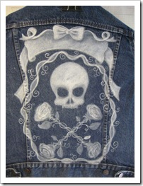 skull jacket step 1