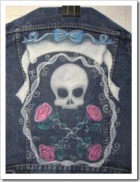 skull jacket step 2