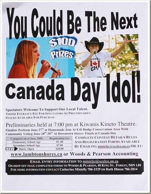 Canada Idol rs