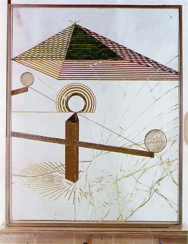 marcel duchamp, to be looked at etc.