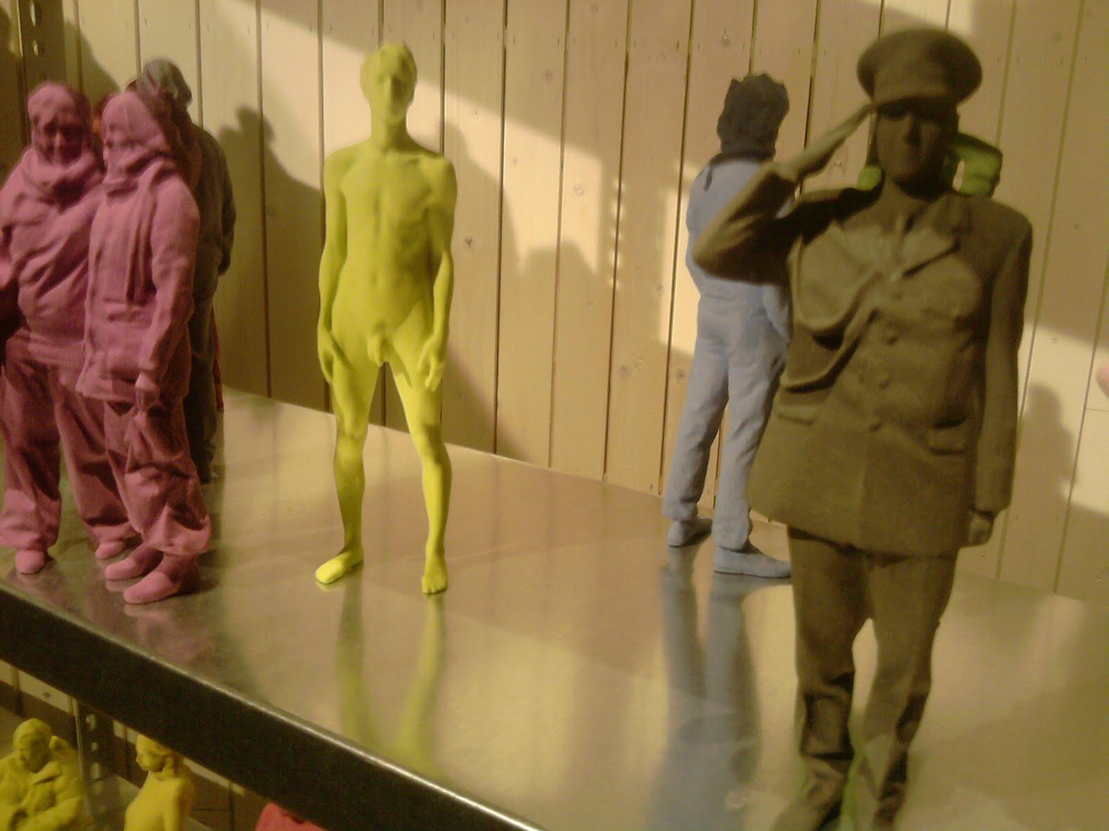 niet normaal, nog meer 3D-prints van ingescande mensen