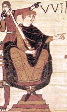 willem de veroveraar op t tapijt van bayeux