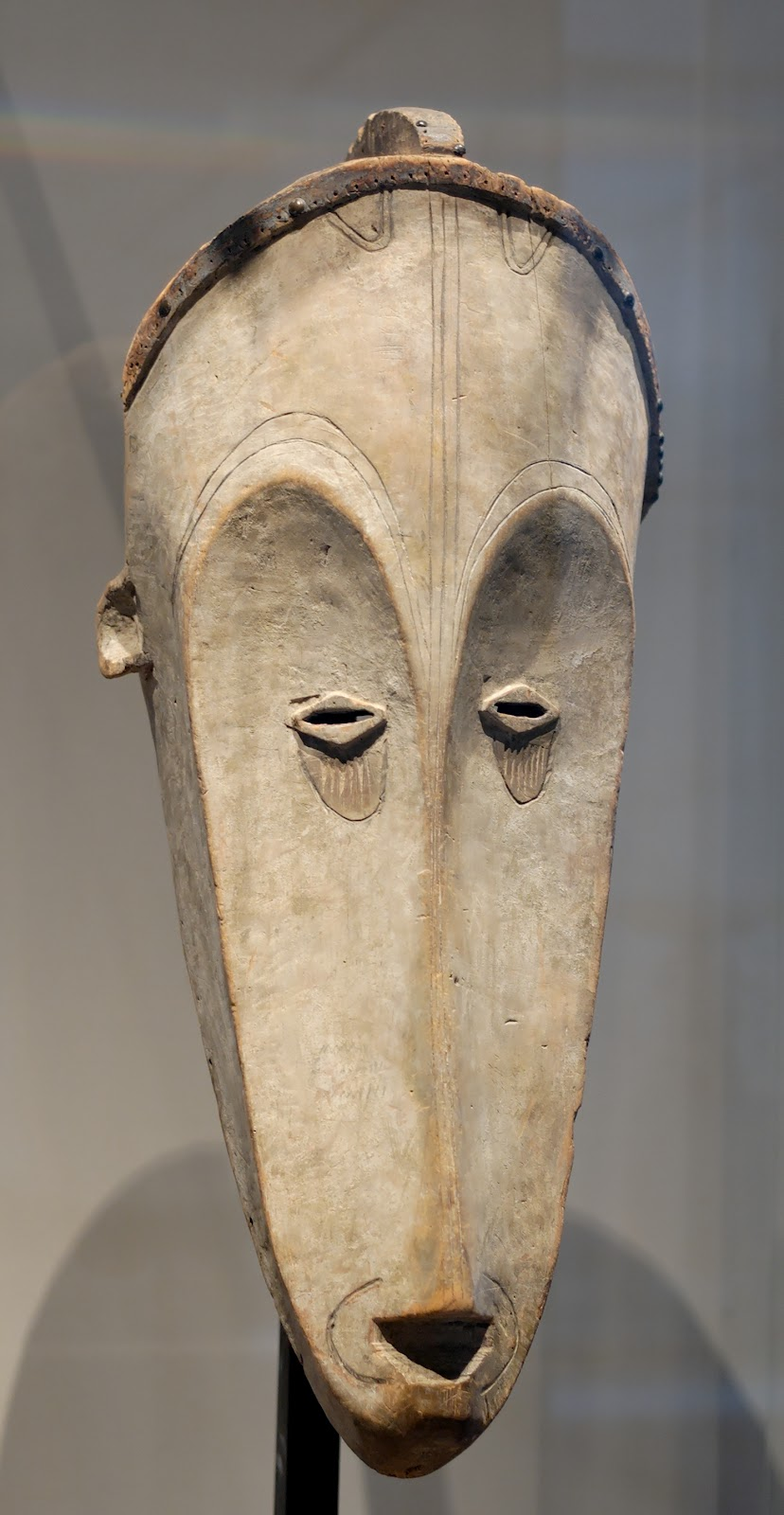 fang mask, louvre