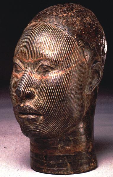 bronzen hoofd, ife cultuur