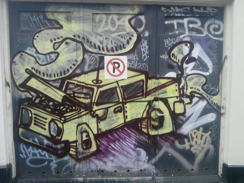 onbekende straatkunstenaar, foto blogauteur