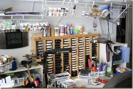 desk workspace