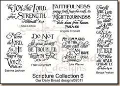 Scripture Collection 6