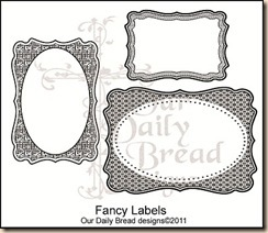 Fancy Labels