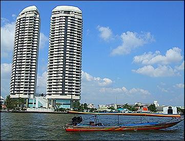 Long Tail Boat por los Canales de Bangkok