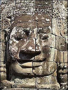 las piedras eran colocadas y posteriormente esculpidas