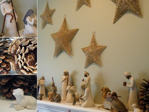 View nativity collage