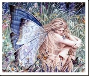 fairy in a field