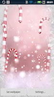 Screenshot of Christmas Snowflakes