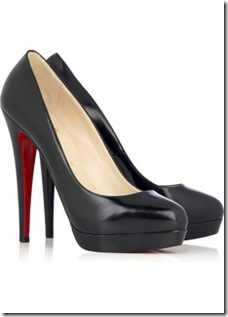 Christian Louboutin Alti Leather Pumps   1