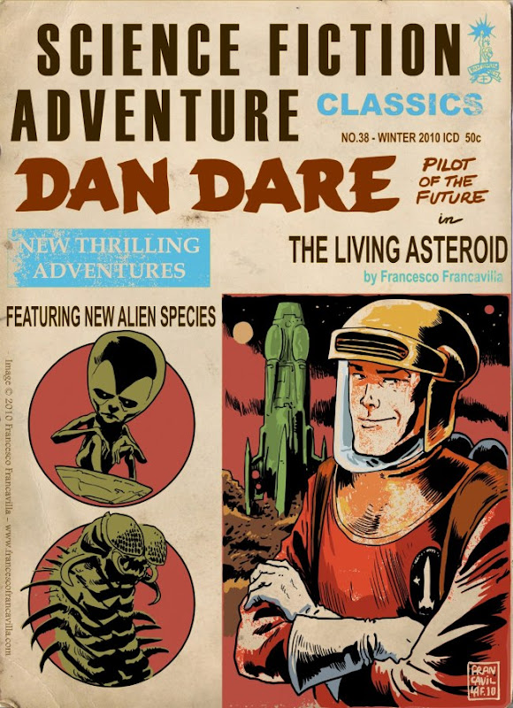 Dan Dare 'Pulp' Cover