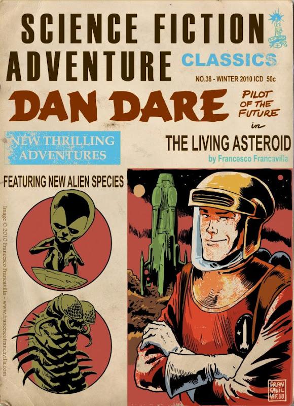 Dan Dare 'Pulp' Cover