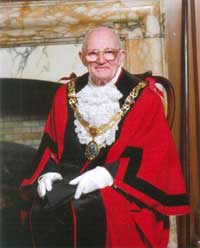 Mayor of Lancaster, Councillor Roger Sherlock