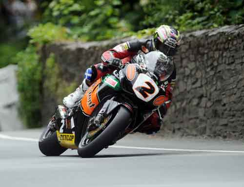 John McGuniness in the 2009 TT Final Race