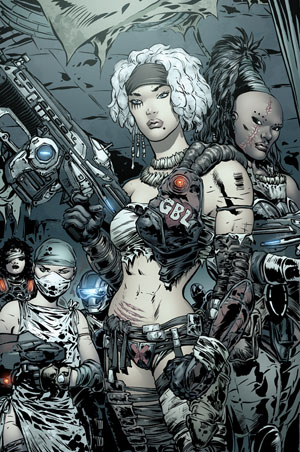 Gears of war Girls by Liam Sharp