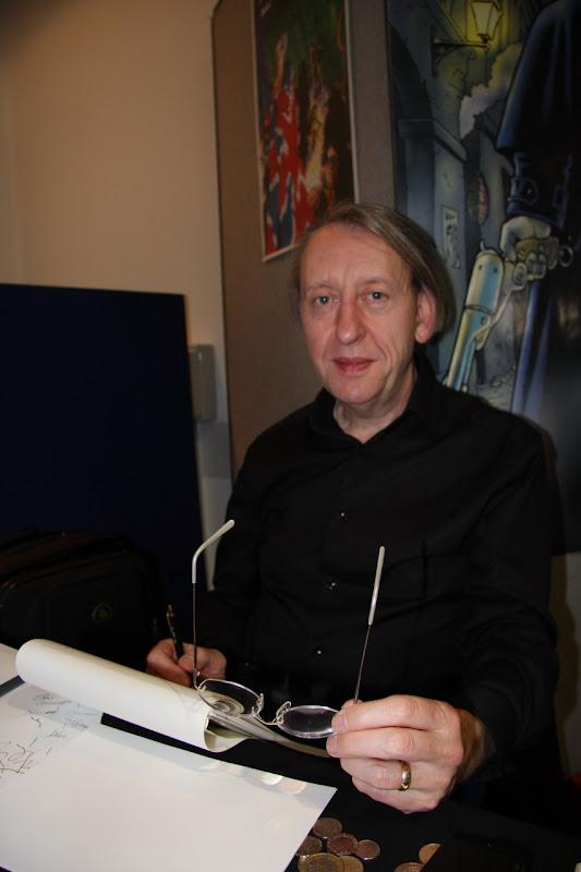 Bryan Talbot at BICS 2009
