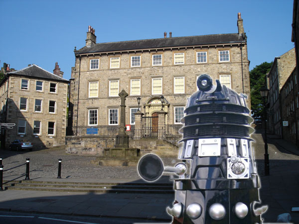 Dalek storms Judges Lodgings