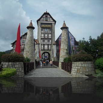 Colmar Tropicale entrance