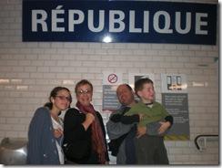 Republique Metro station