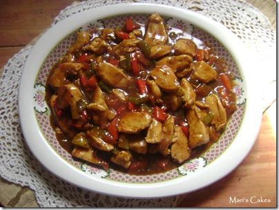 Comida casera, stir fry chicken