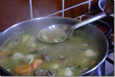Sopa criolla dominicana, sopa de pollo