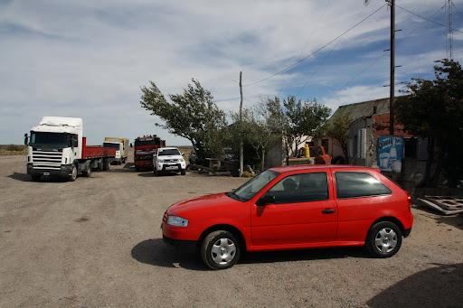 My first Argentine truck stop!