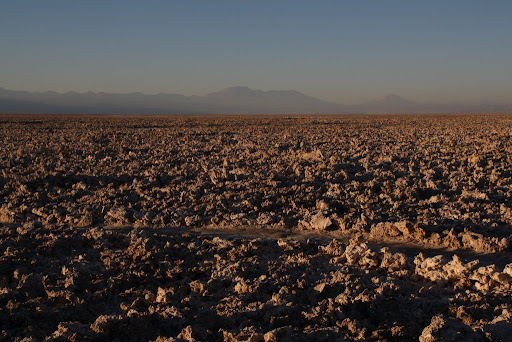 Salar de Atacama - the third largest salt flat in the world