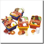 Pretend and Play Lunch Foods Basket