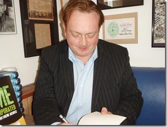 Lance Parkin signing