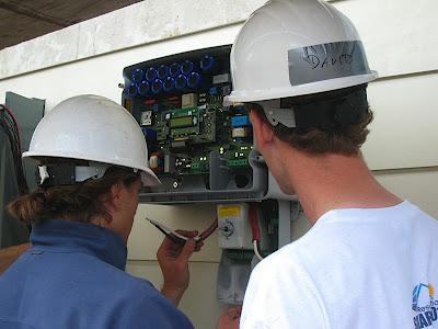 wiring the SunPower inverter