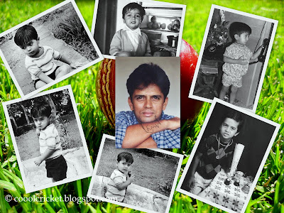 Wallpaper of Dravid's Childhood Memories....