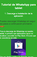 Screenshot of Instalar WhatsAp en tablets