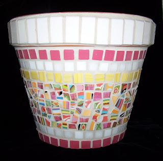 Mosaic Pottery: Flowerpots & Planters