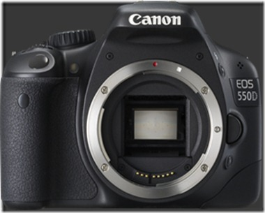Canon EOS-550D DSLR Camera