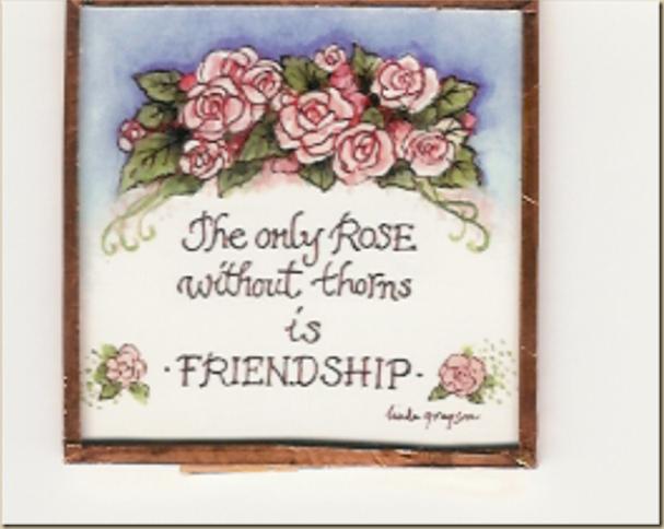 rose friendship