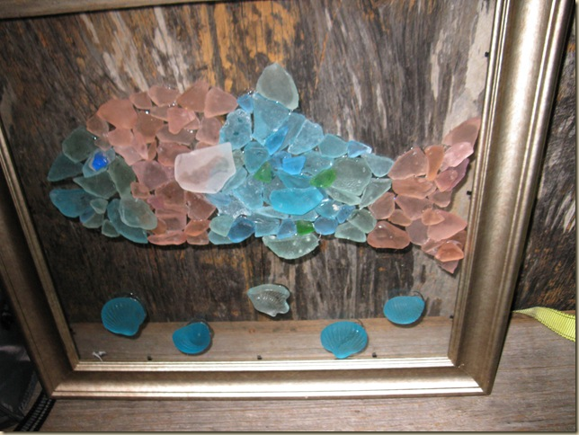I Have Lots Of Sea Glass Collected While Living On The Beach And Found This Story About Make Jewelry Picture Frames Light Switch Covers