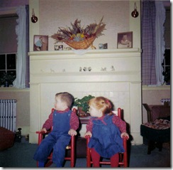Bonny and Bryan - ages 2 and 3