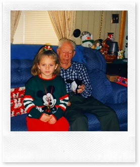 Telah & Great-Grandpa Alleman