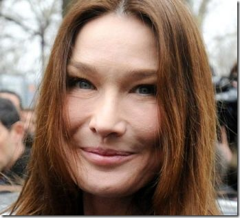 Carla Bruni Botox Addict