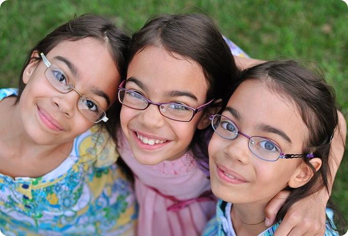 triplets birthday pic