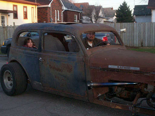 36 Plymouth Rat Rod.