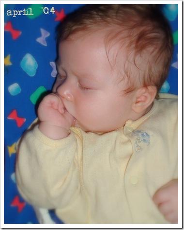 2004 0420 Hyrum fell asleep sucking on his thumb 2 edit