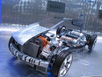 Chevrolet Volt hybrid.
