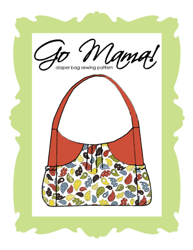 Go Mama! Diaper Bag- PDF Pattern