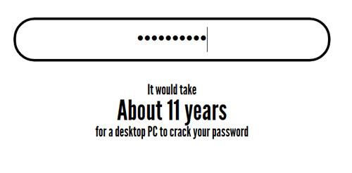 прочность пароля
